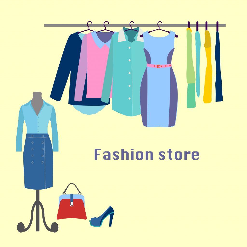 Fashion Illustration Bundle:  Clothing Business Icons and illustrations - 24901100
