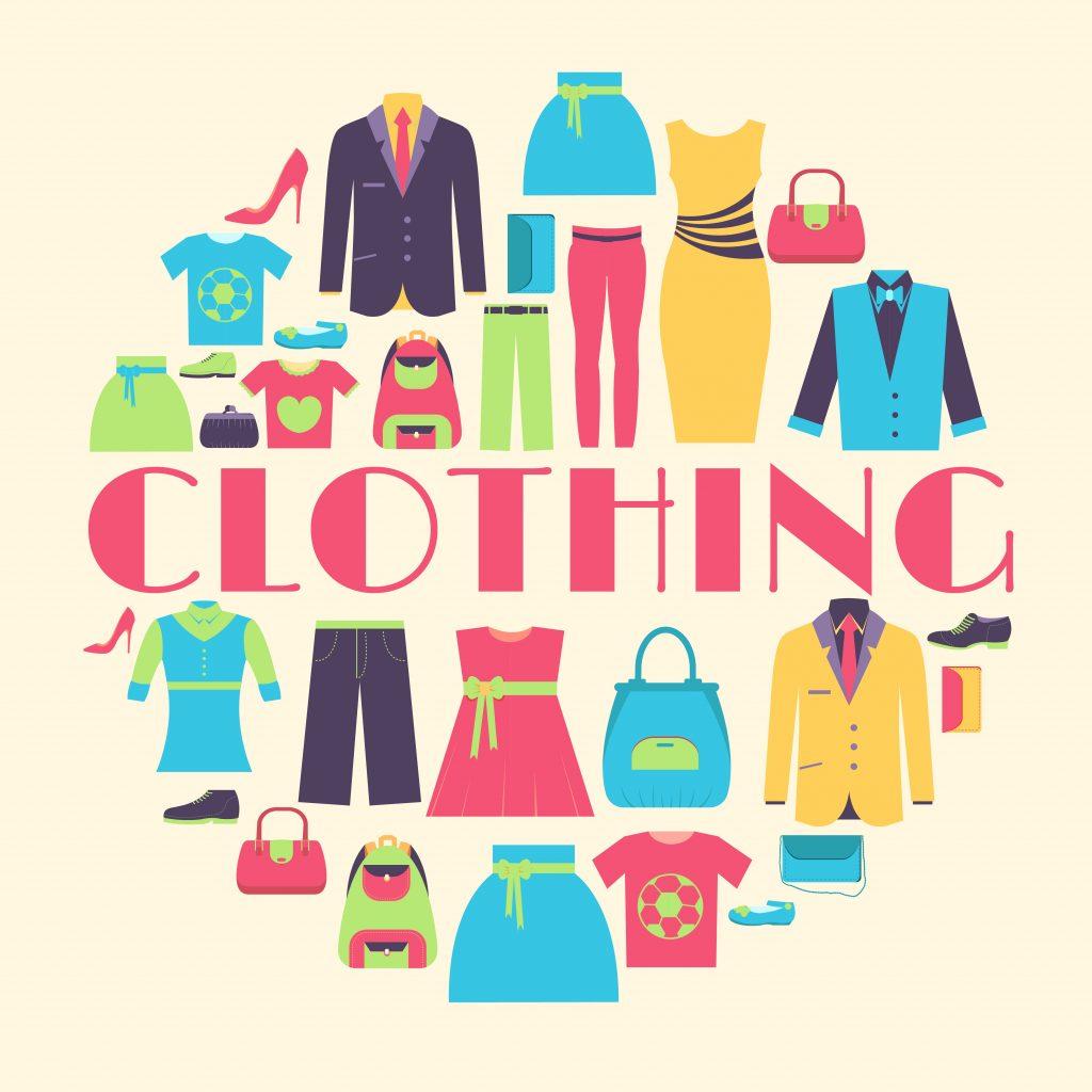 Fashion Illustration Bundle: Clothing Business Icons and illustrations - 27220134
