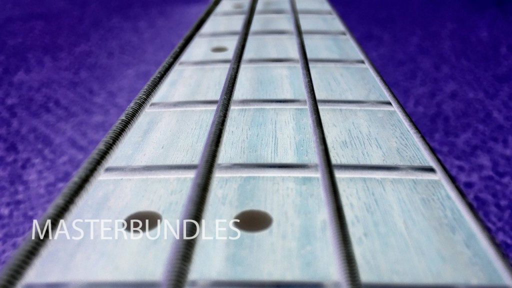 Guitar Background Bundle: 10 Music Backgrounds Invert Style - 3 5