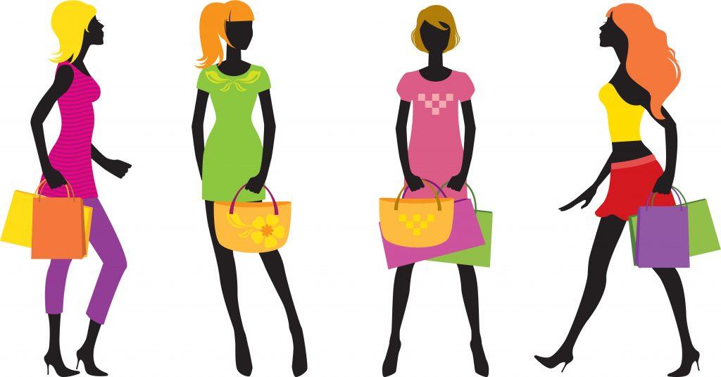 Fashion Illustration Bundle: Clothing Business Icons and illustrations - 3136263