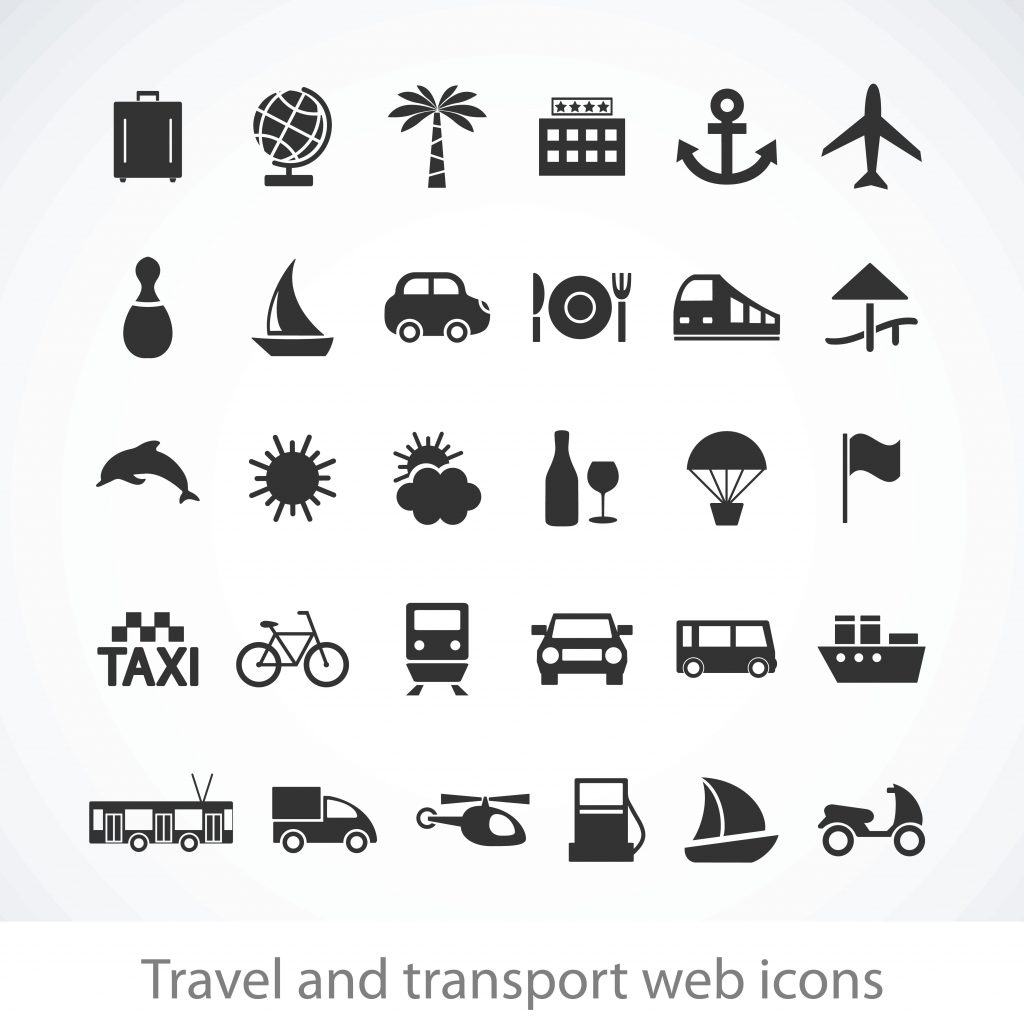 Travel Icon & Illustrations: Vacation Pack - $13 - 3394151