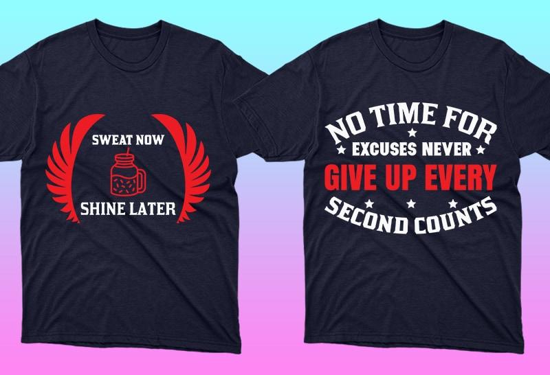 Minimalist T-shirt Design: 600 Mega Editable T-shirt Designs Bundle – 99% off - 4 9