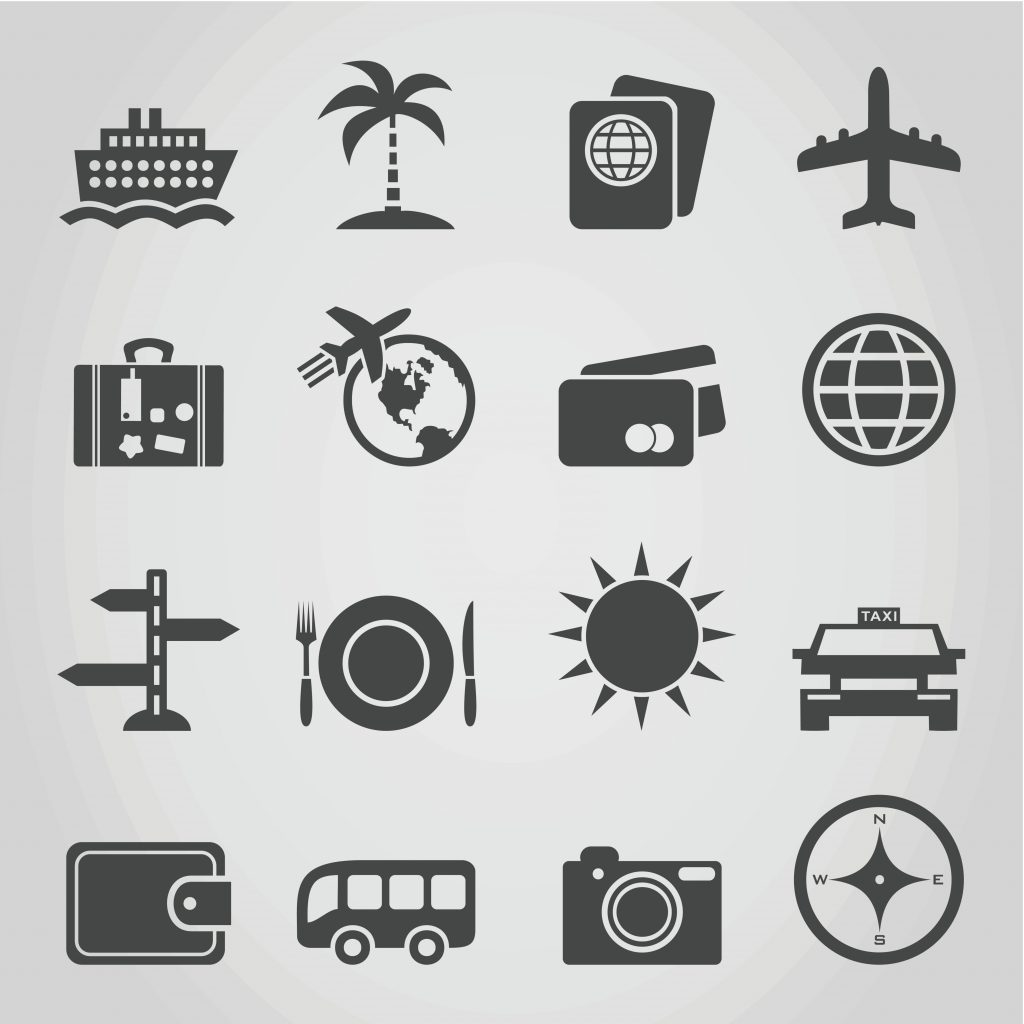 Travel Icon & Illustrations: Vacation Pack - $13 - 4108809