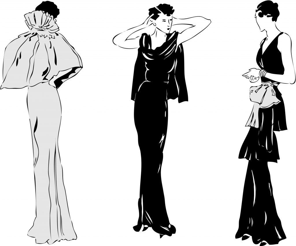 Fashion Illustration Bundle: Clothing Business Icons and illustrations - 4285826