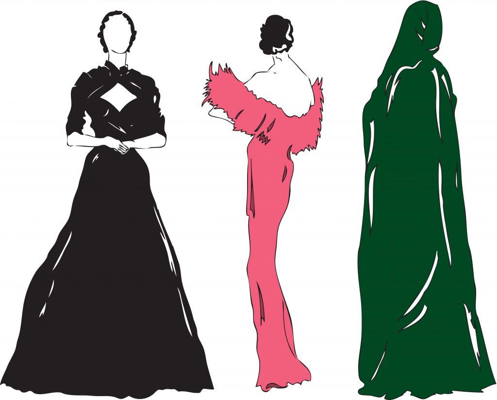 Fashion Illustration Bundle:  Clothing Business Icons and illustrations - 4502016