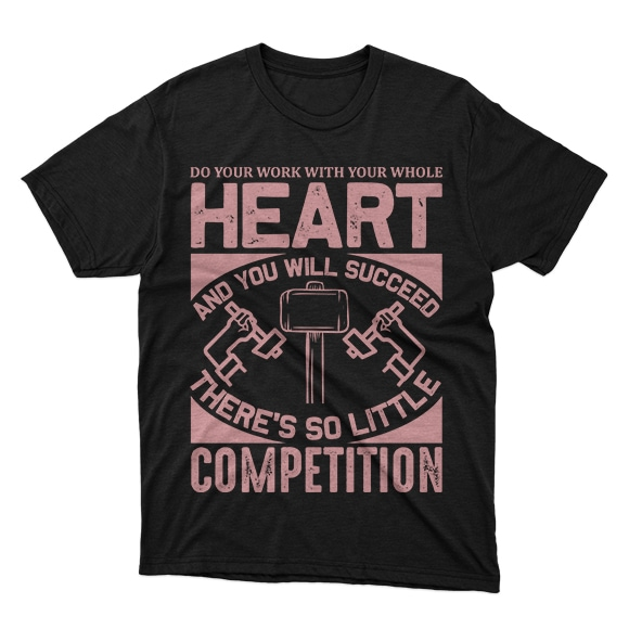 Minimalist T-shirt Design: 600 Mega Editable T-shirt Designs Bundle – 99% off - 5 15