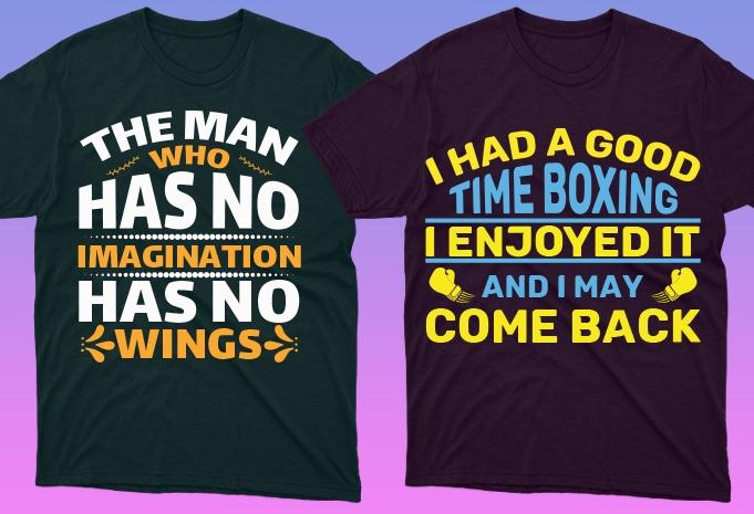 Minimalist T-shirt Design: 600 Mega Editable T-shirt Designs Bundle – 99% off - 5 29