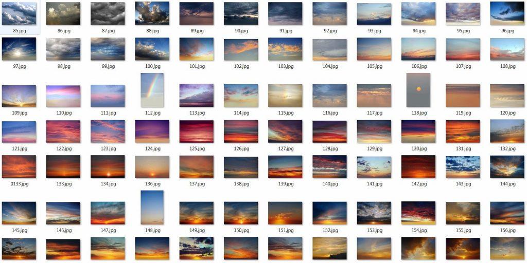 250 Sky Photoshop Add-Ons - $15 - 6