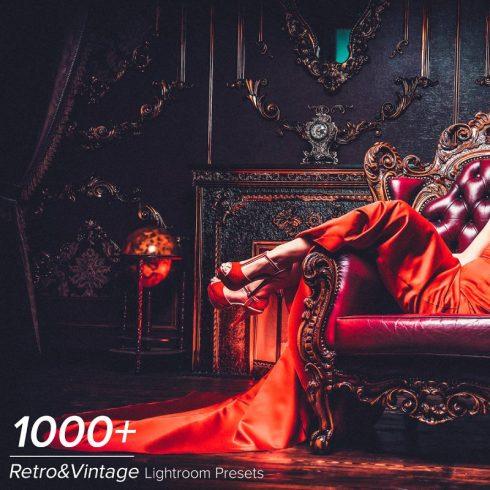 1000+ Vintage Lightroom Presets - $19 - 600 1 490x490