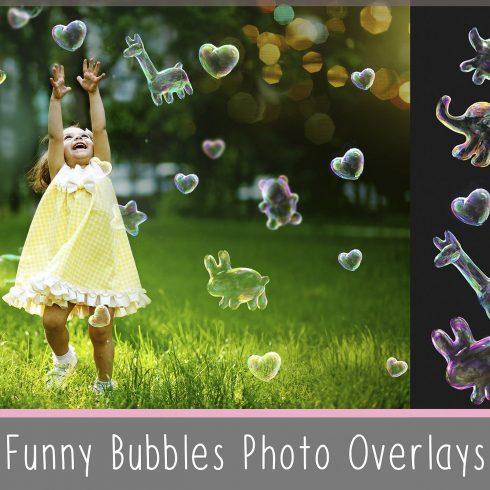 Funny Animals Soap Bubbles Overlay - 600 12 490x490