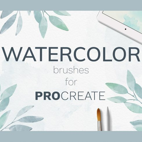 Huge Collection of Watercolor stamp Brushes and Splashes - 600 16 490x490