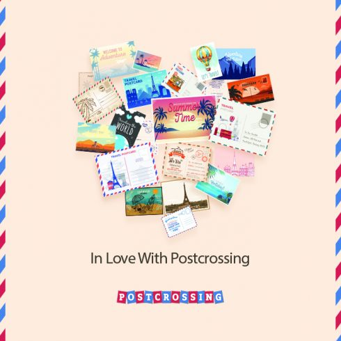 I Love Postcrossing Free Postcard - 690 1 490x490