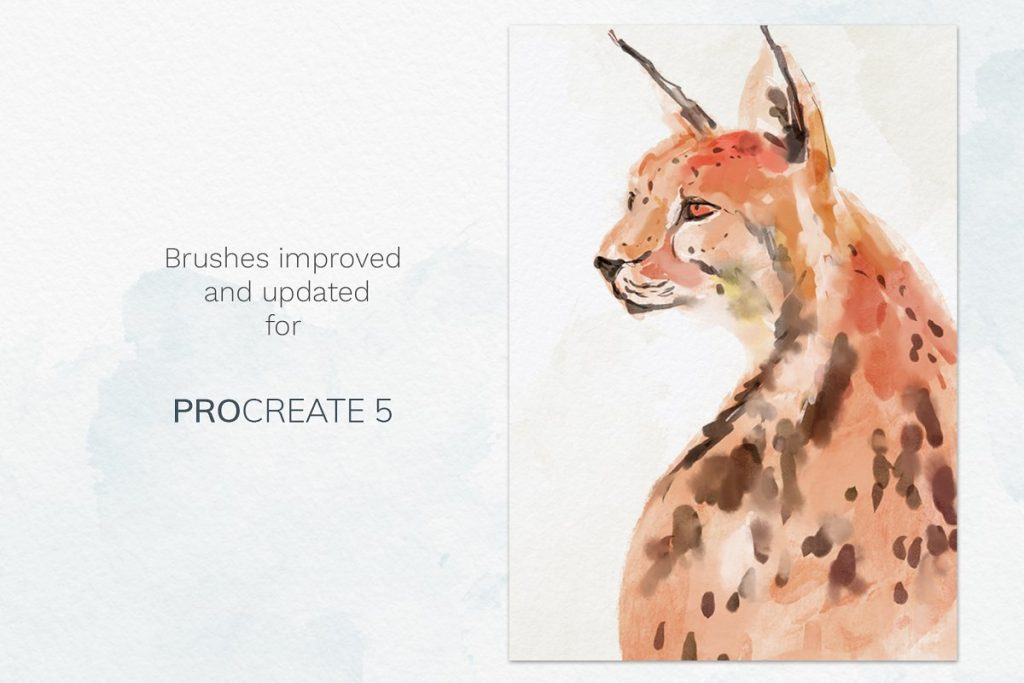 38 Procreate Watercolor Brush Set - $14 - 7 2 2