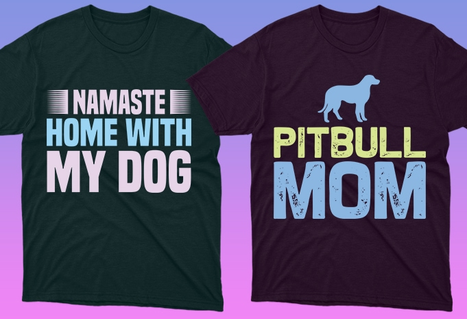 Dog Shirt: 50 Dog Quotes Editable T-shirt Designs Bundle -  $15 - 7 28 1