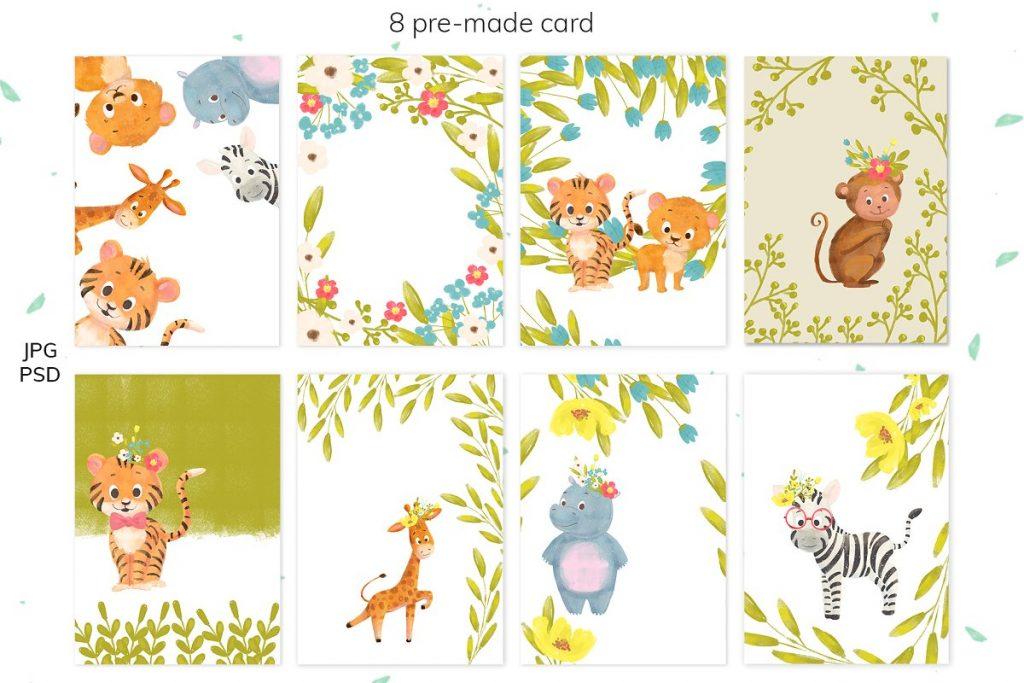 30 Wild Little Animals Hand-drawn Illustrations - 7 3