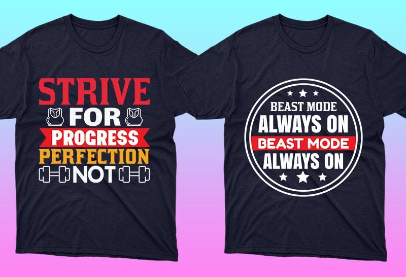 Minimalist T-shirt Design: 600 Mega Editable T-shirt Designs Bundle – 99% off - 7 6