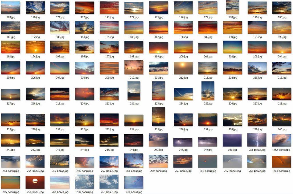 250 Sky Photoshop Add-Ons - $15 - 7