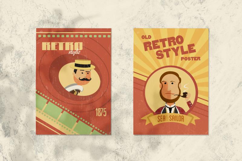 30 Retro Avatars: People Vector Cartoon Collection + Free Bonus (backgrounds & ribbons) - 800 3671030 dnf4jwaj4cjz2cql8z8vy8uknsbdj0jcxajeyrw8 avatars retro people vector cartoon collection