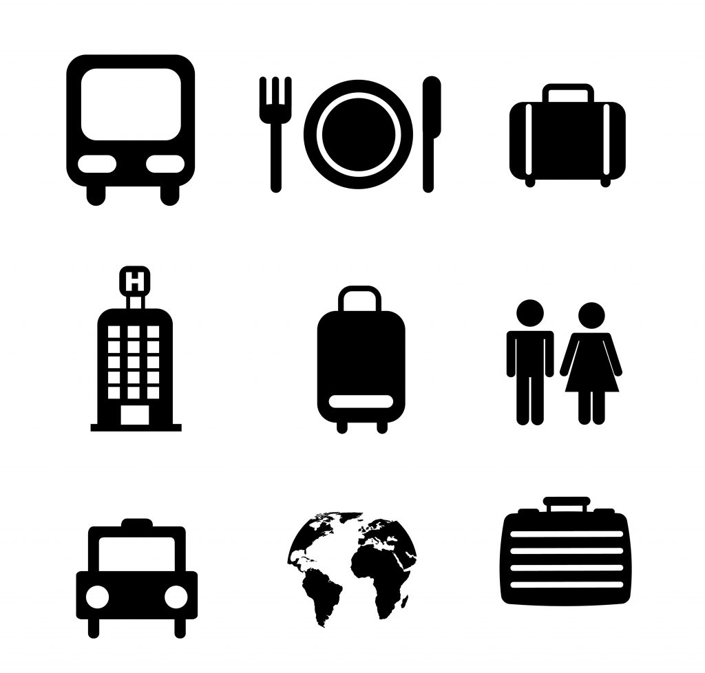 Travel Icon & Illustrations: Vacation Pack - $13 - 8129366