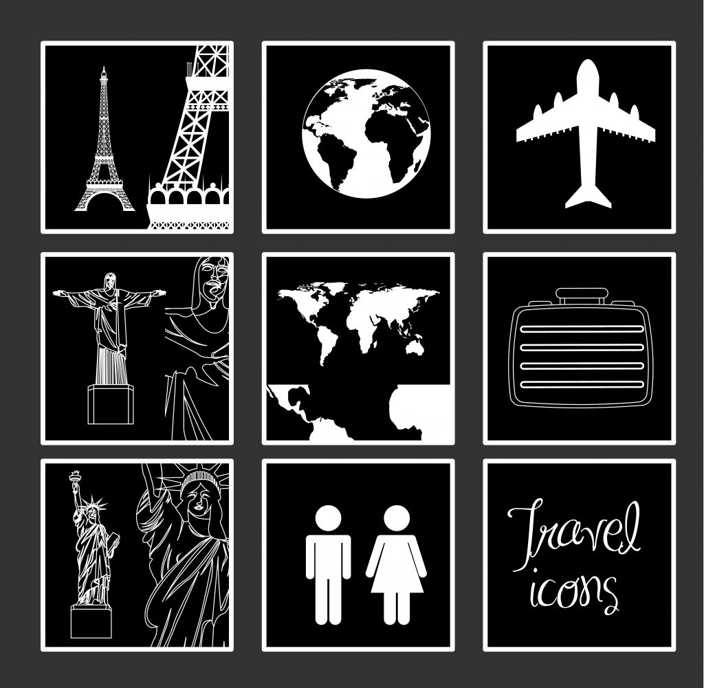 Travel Icon & Illustrations: Vacation Pack - $13 - 8130342