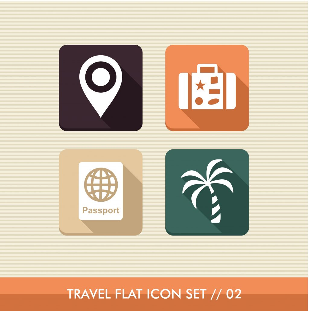 Travel Icon & Illustrations: Vacation Pack - $13 - 9044970