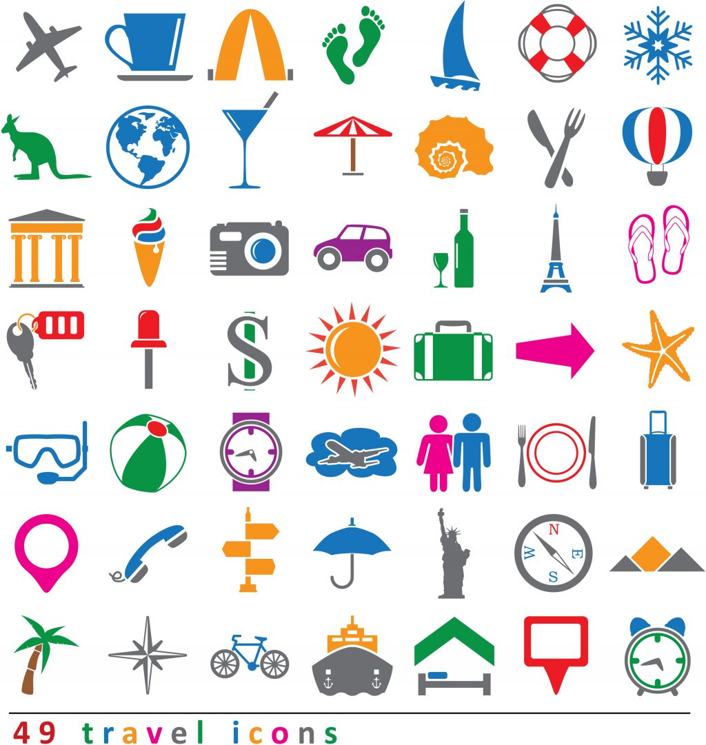 Travel Icon & Illustrations: Vacation Pack - $13 - 9760434