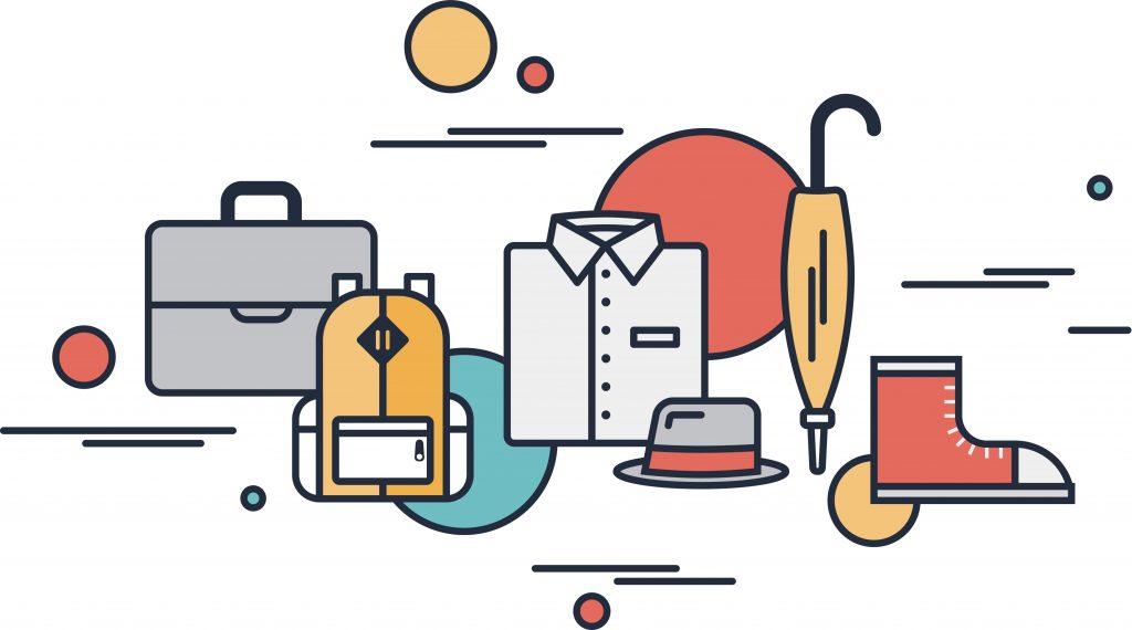 Fashion Illustration Bundle: Clothing Business Icons and illustrations - 9989548