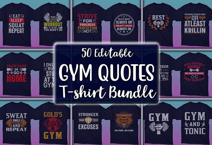 Minimalist T-shirt Design: 600 Mega Editable T-shirt Designs Bundle – 99% off - Main 1
