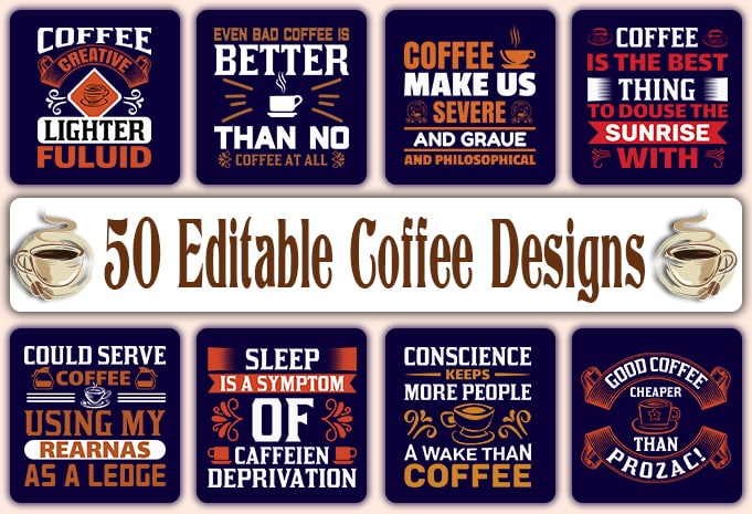 Minimalist T-shirt Design: 600 Mega Editable T-shirt Designs Bundle – 99% off - Main 4