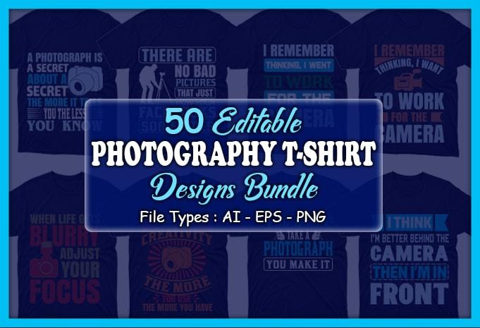 Minimalist T-shirt Design: 600 Mega Editable T-shirt Designs Bundle – 99% off - Main 5