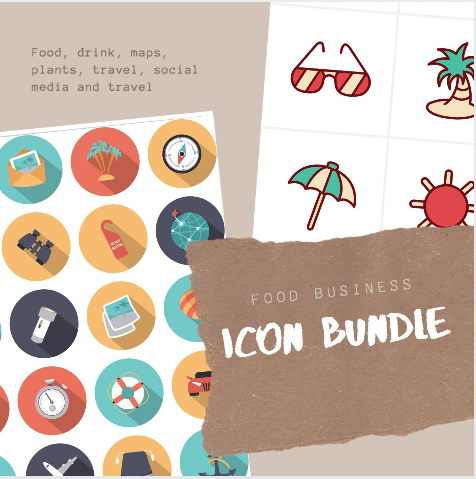 600+ Food Business Icon Bundle - $11 - Screen Shot 2020 03 03 at 10.06.03