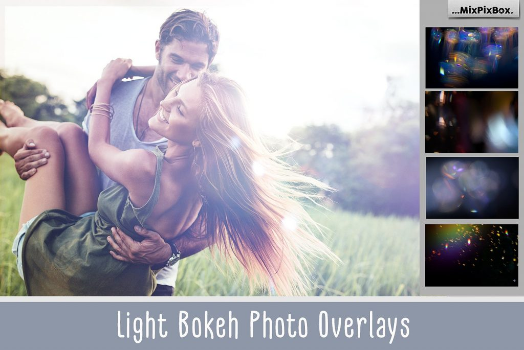 60 Light Bokeh Overlays - $8 - cover 1
