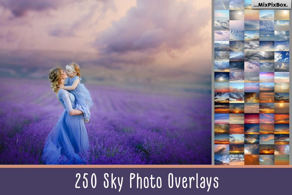 250 Sky Photoshop Add-Ons - $15 - cover 2