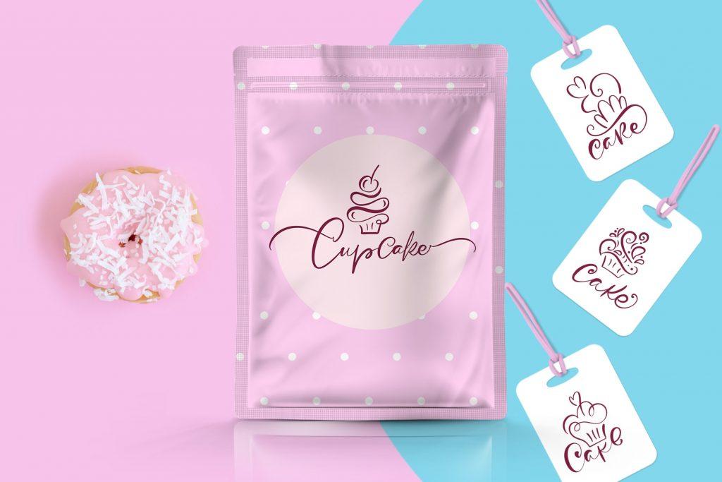 Cupcake Dessert Logo - $29 - title02 min 1