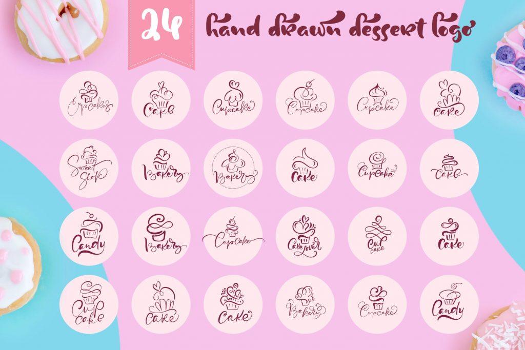 Cupcake Dessert Logo - $29 - title03 min 1