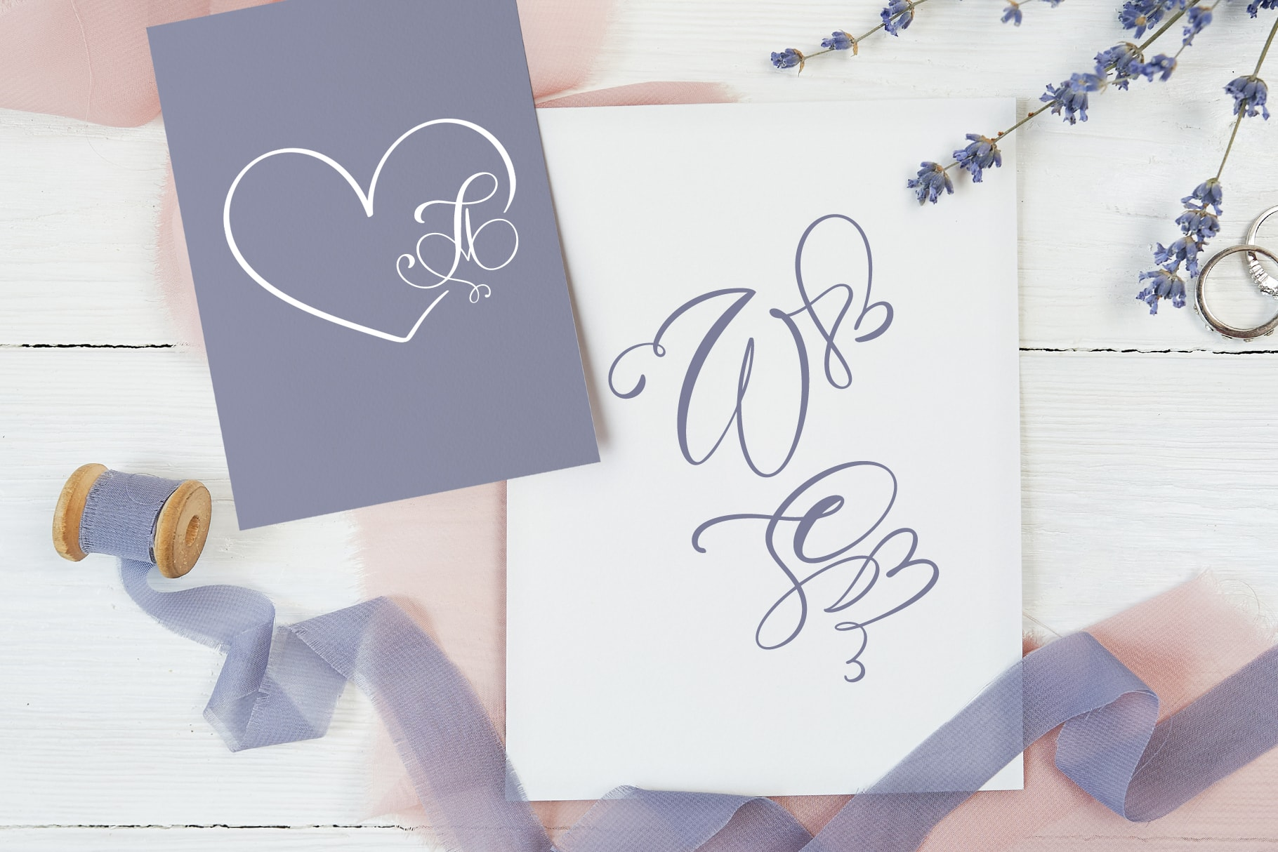 Best Valentines Day Font in 2021. Initial Valentine Display Font! - title04 min 3