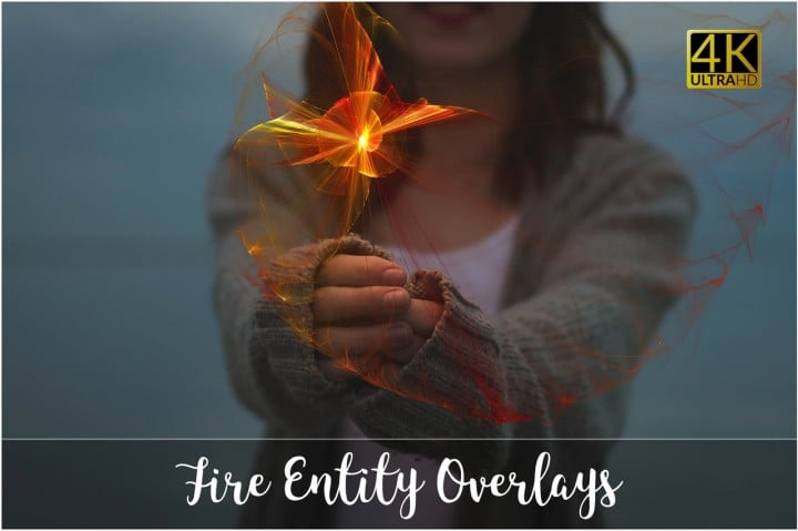 40 Fire Overlay Transparent: Fire Entity Bundle - 02 2