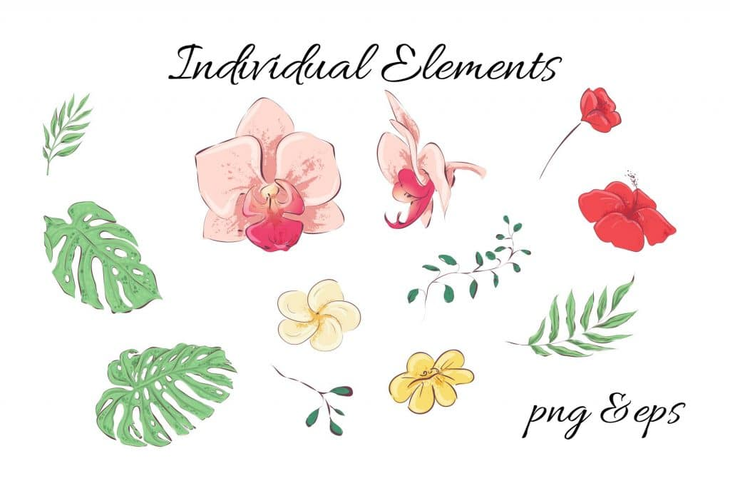 Summer Time Clipart - 38 Individual Elements - 10