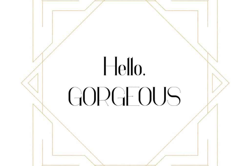 Georgia Luxurious Serif font + Graphics - 2 3