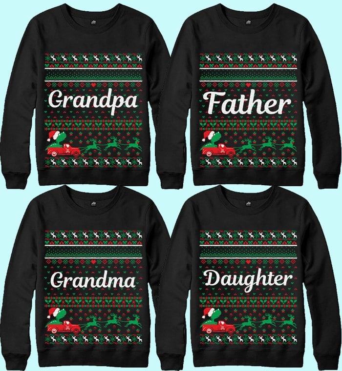 70 Printable Ugly Christmas Sweater Design Bundle - 5 17