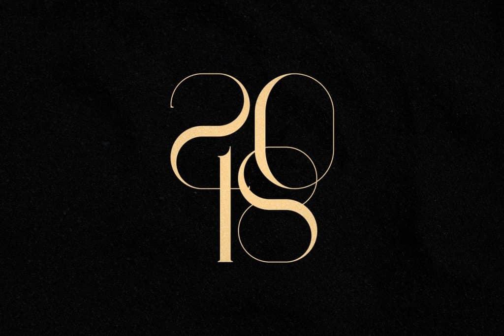 Georgia Luxurious Serif font + Graphics - 5 2 1