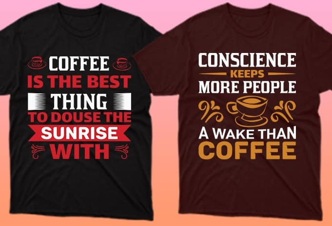 Bright phrases on T-shirts will not go unnoticed.