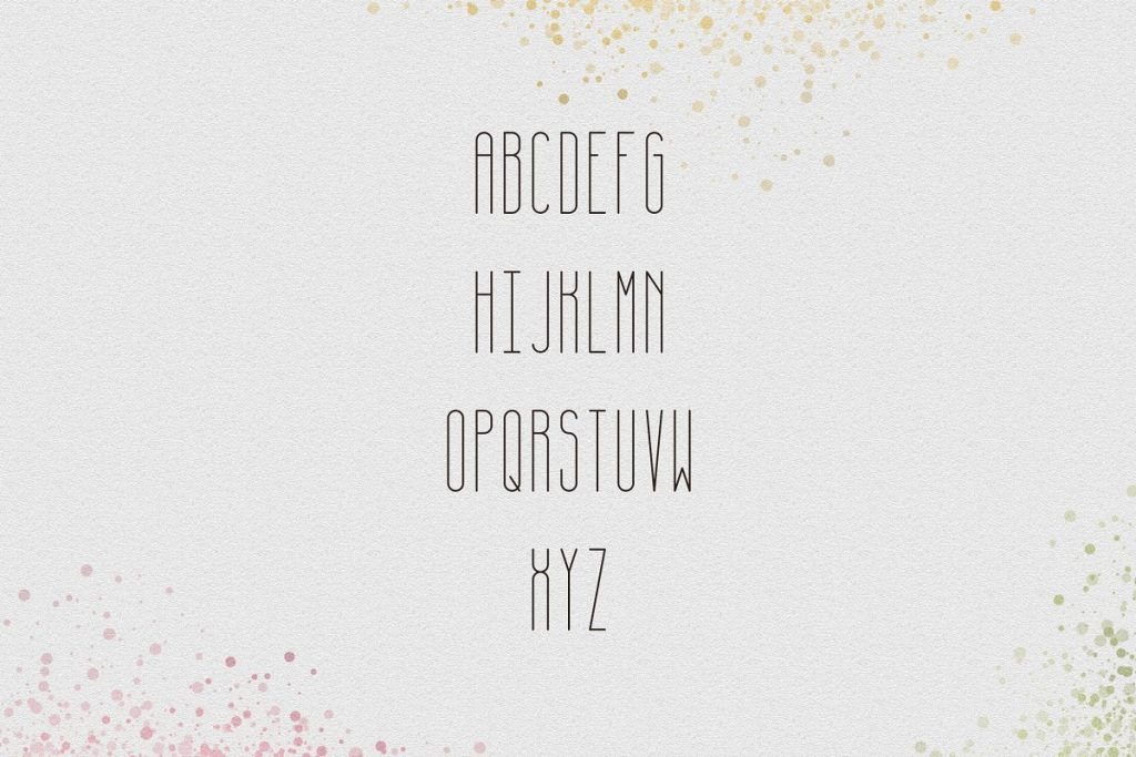 April Display Font - $11 ONLY - 6