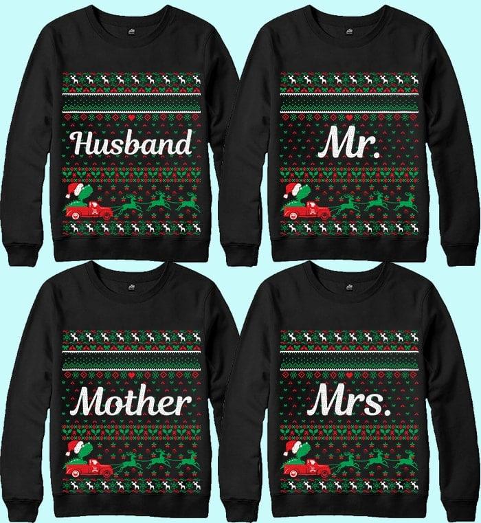 70 Printable Ugly Christmas Sweater Design Bundle - 6 17