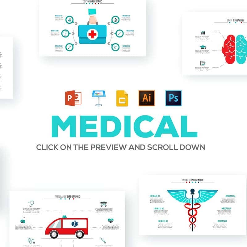 🚑 20+ Medical Infographic Templates, Presentations And Images In 2020 - 600 28