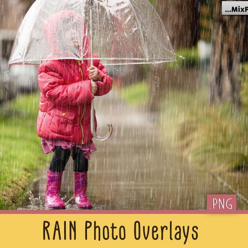 Rain Overlay: 30 Rain Overlays for Photoshop - $9 - 600 6 490x490