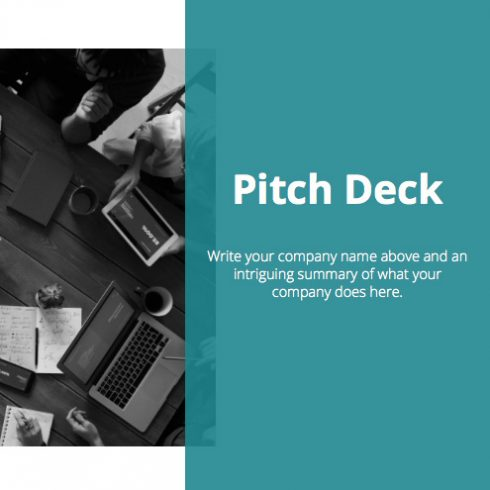 45+ Pitch Deck Powerpoint Templates in 2020: Free and Premium. How To Create A Pitch Deck - 600 7 490x490