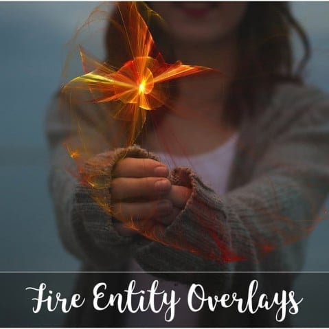 40 Fire Overlay Transparent: Fire Entity Bundle - 601 4