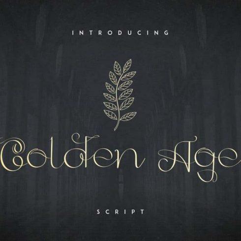 Golden Girls Script +20 Handmade Vectors - 601 7 490x490