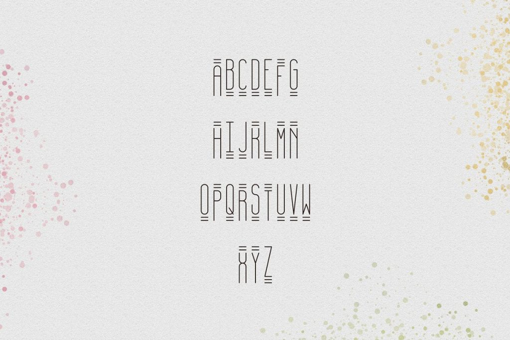 April Display Font - $11 ONLY - 7